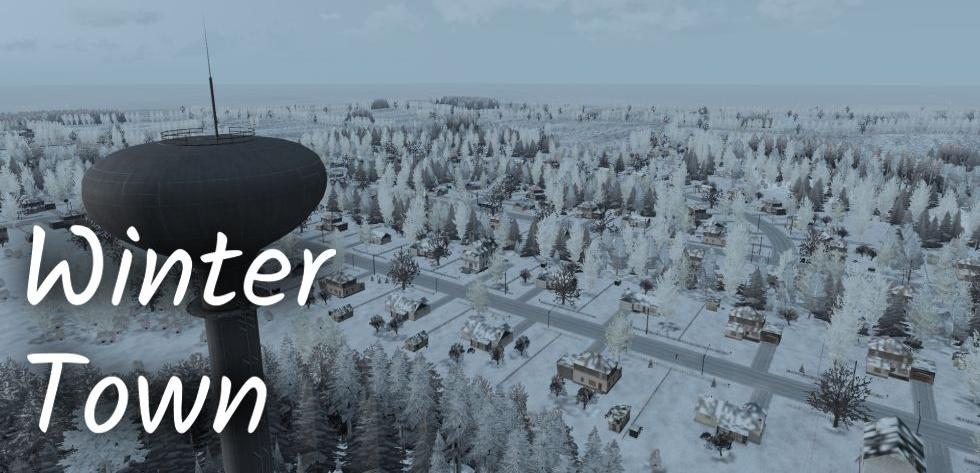Arma 3 Winter Town